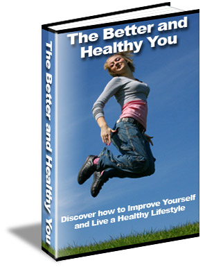 The Better And Healthy You Book Cover