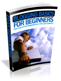 Blogging For Beginners Book Cover