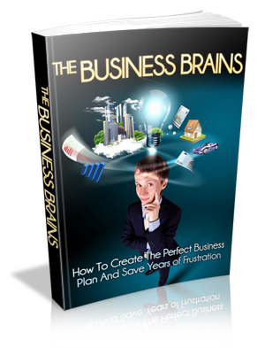 The Business Brains Book Cover