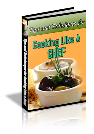 Cooking Like A Chef Book Cover