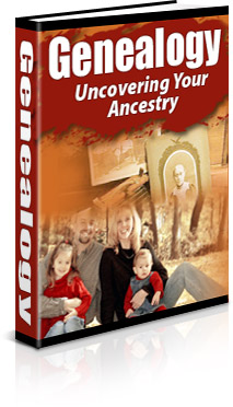 Genealogy Book Cover
