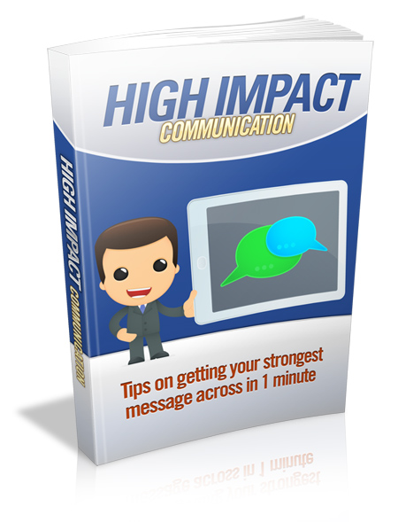 High Impact Communication Book Cover