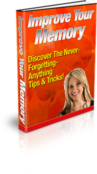 Improve Your Memory Book Cover