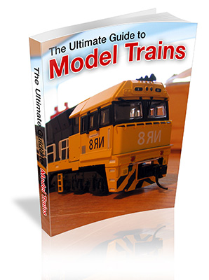 Model Trains Book Cover