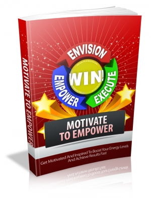 Motivate To Empower Book Cover