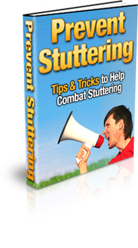 Prevent Stuttering Book Cover