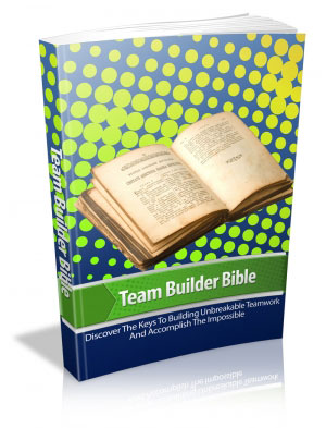 Team Builder Bible Book Cover