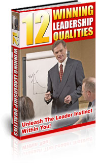 Winning Leadership Qualities Book Cover